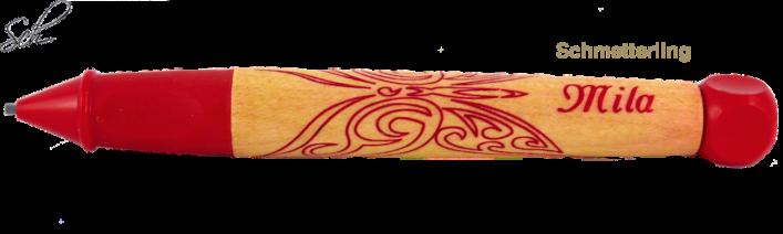 abc Bleistift Der tätowierte Bleistift