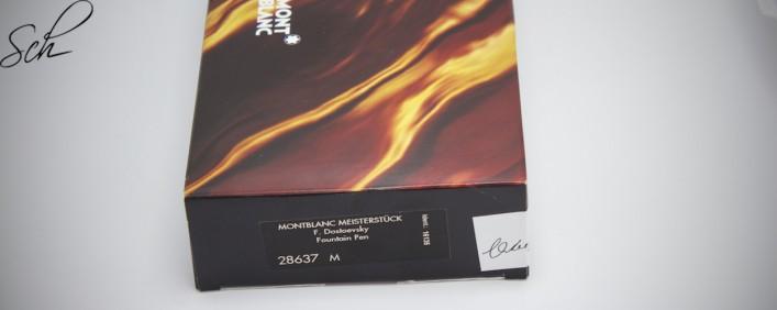 Dostoevsky Füllfederhalter Writers Edition von 1997