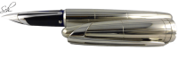 EDSON SILVER FÜLLER FOUNTAIN PEN 925 STERLING-SILBER LIMITED EDITION
