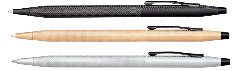 classic  Century Kugelschreiber mit Gravur gebürstet