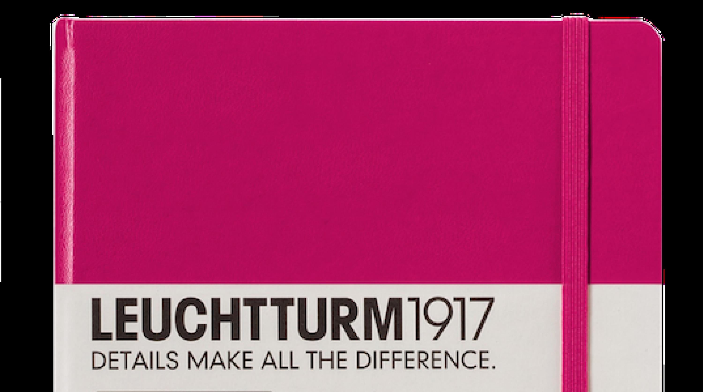 leuchtturm1917 notizbuch medium a5 hardcover schreibkultur papeterie. Black Bedroom Furniture Sets. Home Design Ideas