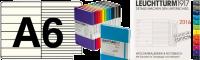 Wochenkalender & Notiz A6 2019 in verschiedenen Farben