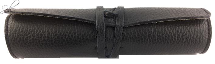 Stiftrolle 5er Etui aus Leder