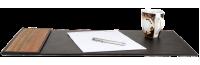Schreibtischunterlage Leder & Holz Bill