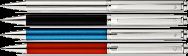 BRIO Kugelschreiber 4 Varianten in 925er Silber