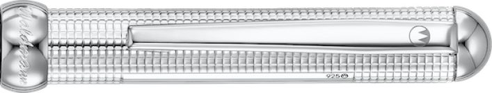 CHESS Tintenroller in 925er Silber