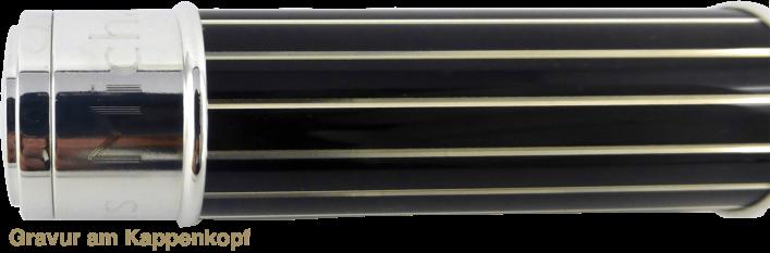 COMMANDER Tintenroller aus Sterling Silber 925
