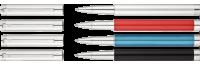 COSMO  Tintenroller 4 Varianten in 925er Silber