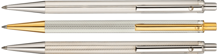 ECO Kugelschreiber 3 Varianten in 925er Silber