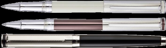 EDELFEDER Tintenroller 3 Varianten in 925er Silber