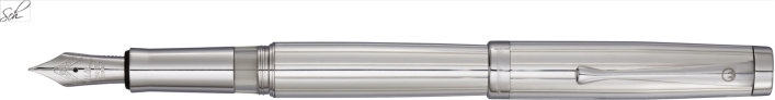 MANAGER Füllhalter aus massivem Sterling Silber 925