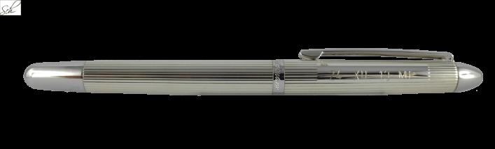 POCKET  Füller mit Gravur in 925er Silber