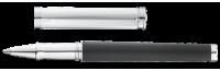 SOLON Tintenroller aus Sterling Silber mit Leder