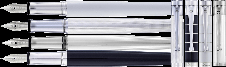 TANGO Füllhalter 5 Varianten in 925er Silber