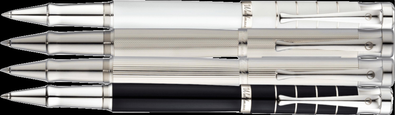 TANGO Tintenroller 5 Varianten in 925er Silber