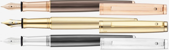 TUSCANY Füller in 3 Varianten 925er Silber