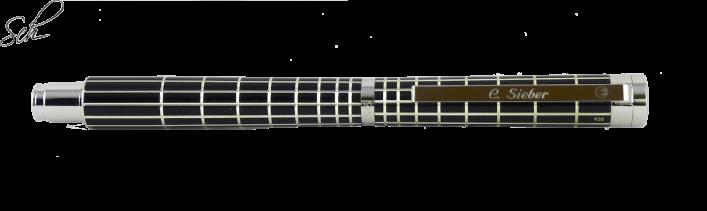 XETRA  Füllhalter 2 Varianten in  925er Silber