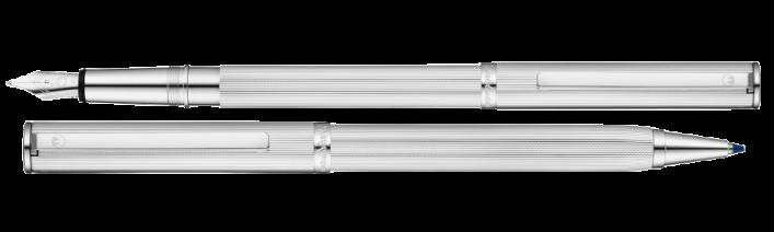 Two-in-one Füller und Kugelschreiber in 925er Silber Sonderedition