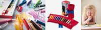 3plus Farbstiftrolle Buntstifte für die Jüngsten Endecker