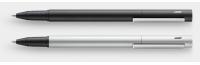 Pur Tintenroller schwarz oder silber