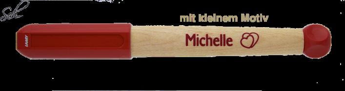 abc Schreiblernfüller mit Gravur Lernfüller/Schreiblernstift