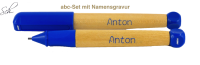 abc Set für Anfänger Füller&Bleistift mit Gravur
