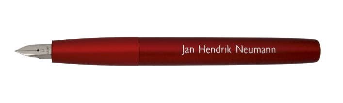 aion rot und blau Kugelschreiber mit Gravur