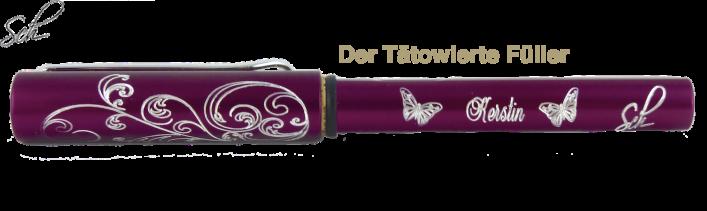 Al-star Füller Schulfüller MIT GRAVUR in 5 Farben