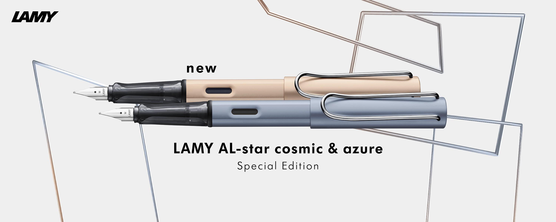 AL-star cosmic & azure Füller 2021 mit Gravur