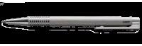 Logo brushed 206 Kugelschreiber ohne Gravur