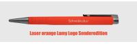Logo LASER ORANGE Kugelschreiber mit Gravur