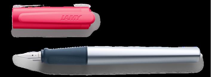 nexx Schreiblernfüller mit Gravur in verschiedenen Farben Lernfüller/Schreiblernstift