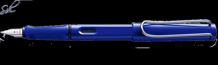 safari Füller Schulfüller in 8 Farben mit Gravur