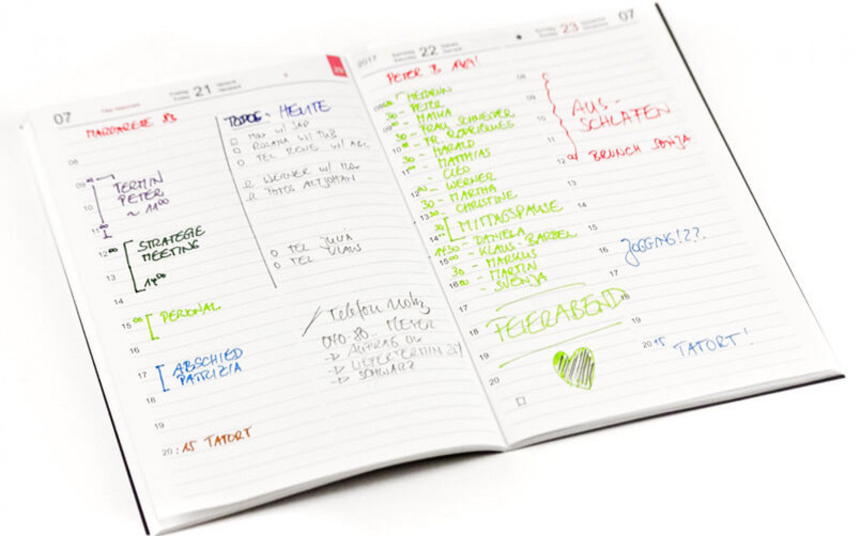 Einlage Tageskalender 2019 A5, A6