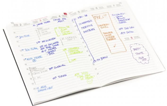 Einlage Wochenkalender CLASSIC PLUS 2019 A5, A6