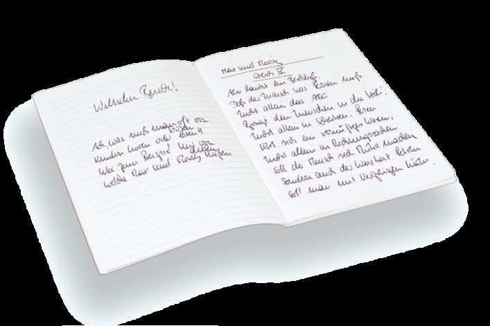 Einlage Notizen blanko, kariert, liniert, A5, A6, A7