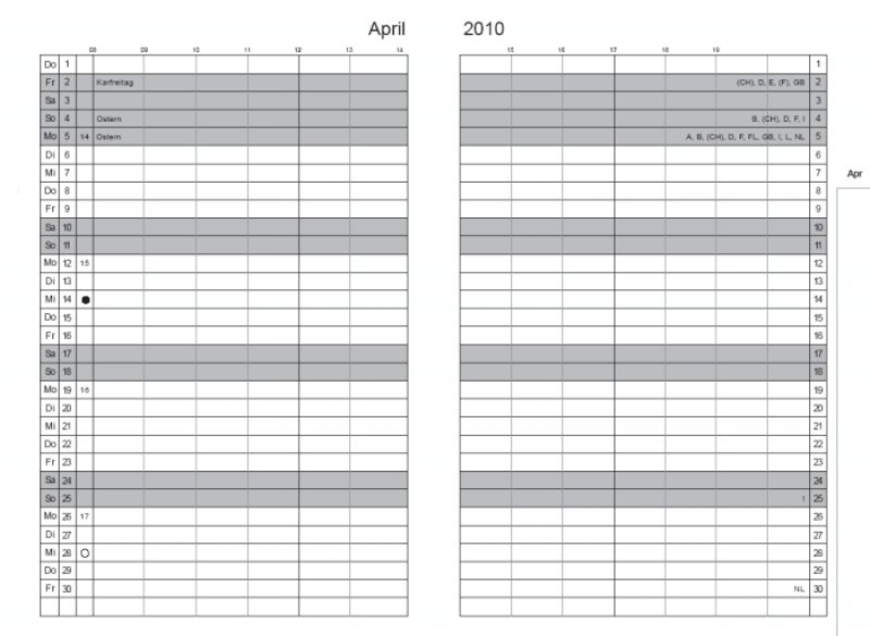 x47 x47 einlage monatskalender 2017 a5 a6. Black Bedroom Furniture Sets. Home Design Ideas